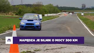 Jazda Subaru Impreza STI  jako pasażer – Tor Borsk video