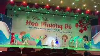 Hội thi Hoa Phượng đỏ tỉnh Tây Ninh, đơn vị huyện Châu Thành năm 2019