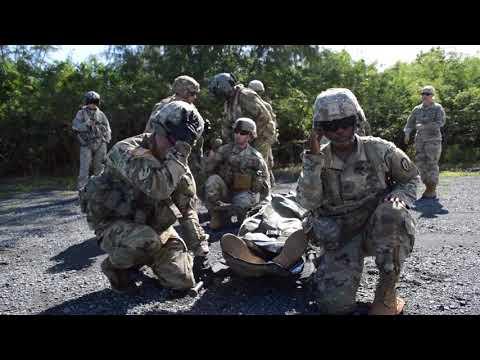 Combat Medics Conduct MEDEVAC Training on Black Hawk B-roll MARINE CORPS TRAINING AREA BELLOWS,HI,US