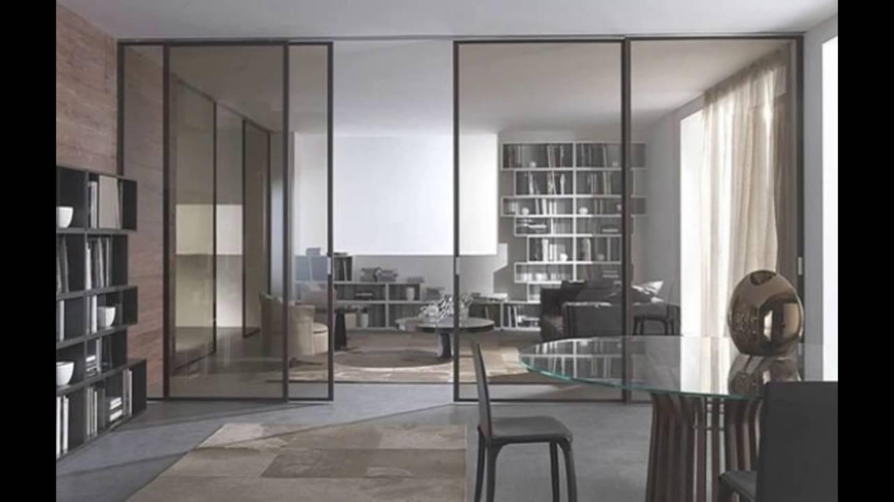 glass sliding doors - YouTube