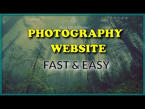 How To Make A Photography Website With WordPress (2019)