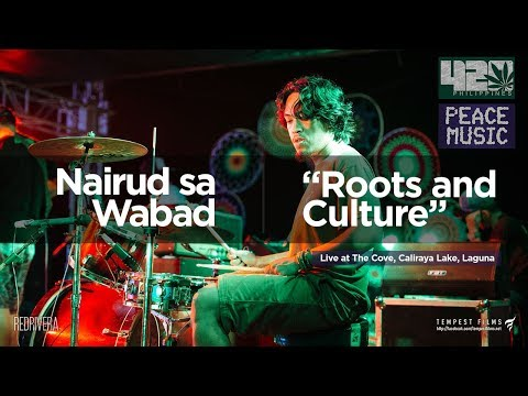 Mikey Dread - Roots and Culture (Cover by Nairud sa Wabad w/ Lyrics) - 420 Philippines Peace Music 6