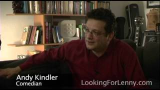 Andy Kindler - Looking for Lenny:  Uncut 01