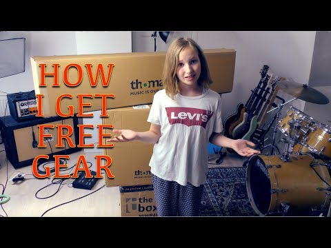 How I get free music gear