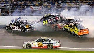 THE WORST NASCAR CRASHES EVER