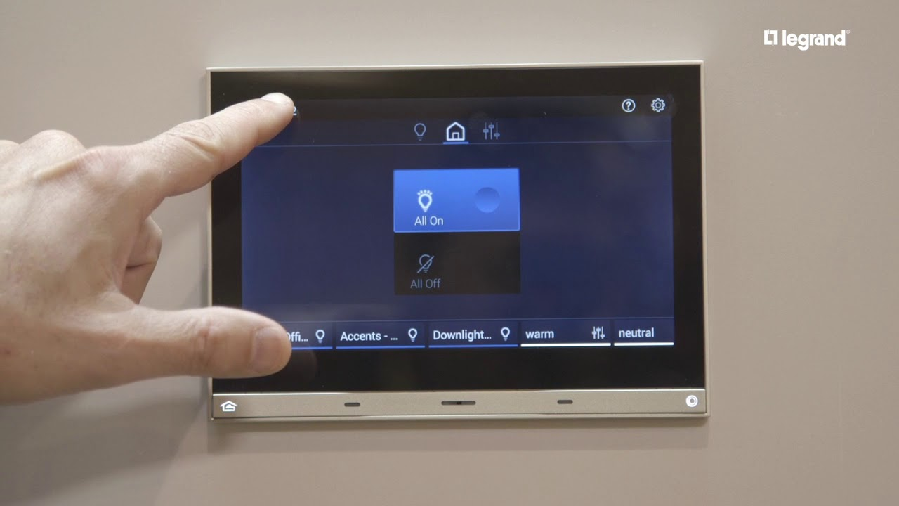 Legrand Equinox Lighting Controls User Interface Youtube Le Grand Dimmer 3 Way Switch Wiring Diagram