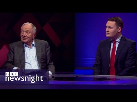 Wes Streeting confronts Ken Livingstone  - BBC Newsnight