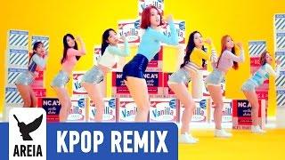 Nc.a (앤씨아) - Vanilla Shake (바닐라 쉐이크) (areia Kpop Remix #189) 클럽리믹스 Edm Mv