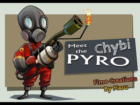 Meet The Chibi Pyro - Team Fortress 2 - Speed Creation Fimo