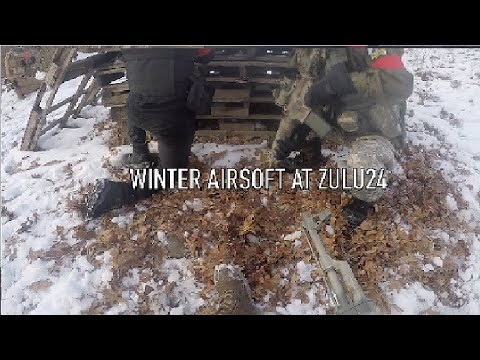 Winter Airsoft At Zulu24