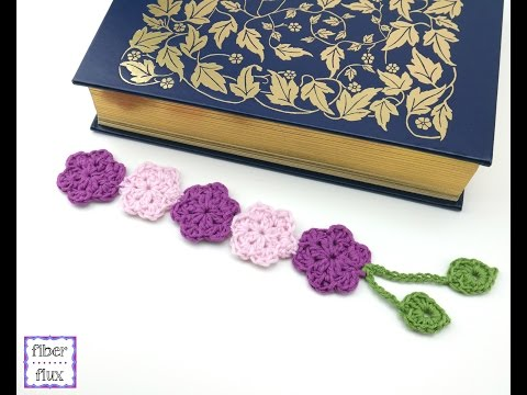 How To Crochet the Botanical Bookmark, Episode 300