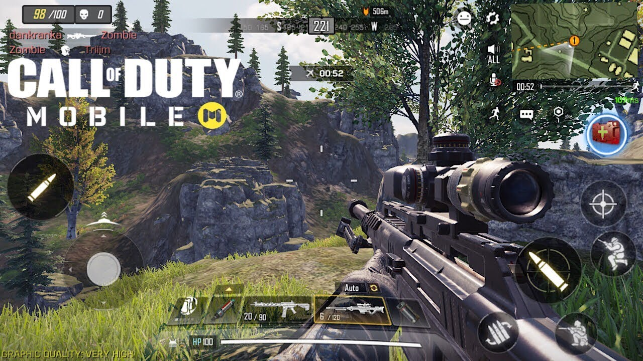CALL OF DUTY MOBILE Battle Royale   17 Kills Solo VS Squad   CODM iOS Gameplay