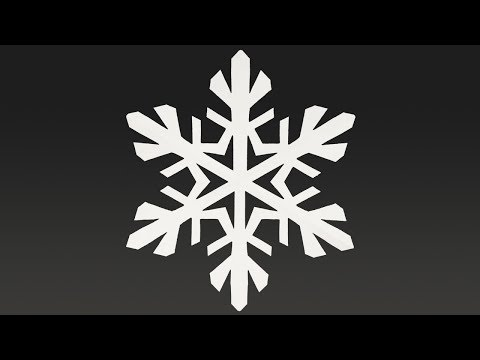 Paper SNOWFLAKE tutorial - Paper SNOWFLAKES - DIY