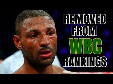 **WOW** KELL BROOK REMOVED FROM WBC RANKINGS | REFUSES TO SIGN UP FOR VADA TESTING !!!!