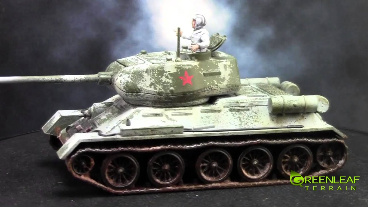 Bolt Action: Russian WW2 Tanks & Armor - YouTube