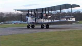 Vickers Vimy Flight by Museum Volunteers on Top Gear Circuit Dunsfold 2008