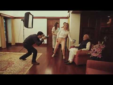 Narendra Modi's sitting : Madame Tussauds