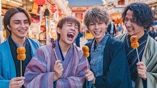 【謹賀新年】浅草で1万円使い切るまで帰れまてん!!
