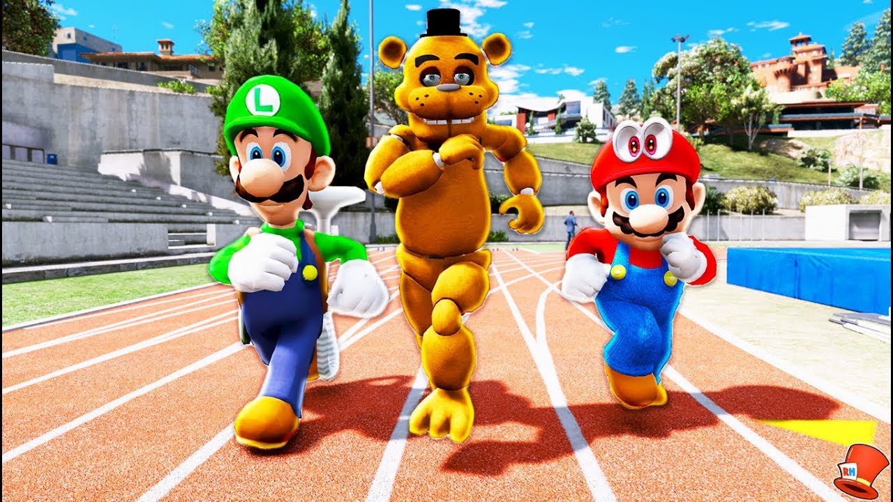 Download GUESS WHO'S THE FASTER FREDDY SUPER MARIO ODYSSEY