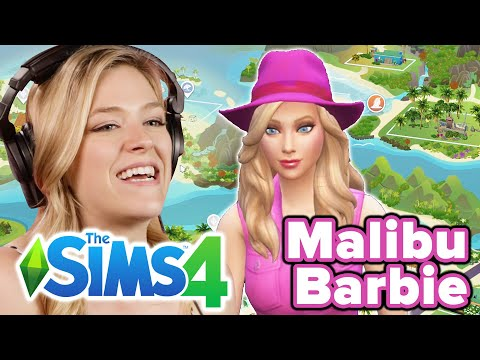 Malibu Barbie Goes Exploring In The Sims 4 | Part 3