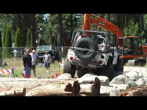 Rock Crawl at Rathdrum, Idaho on July 21, 2013