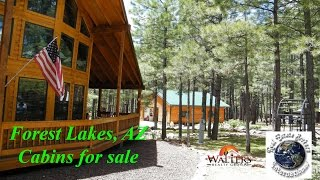 Forest Lakes Az Cabins For Sale 976 Elk Dr