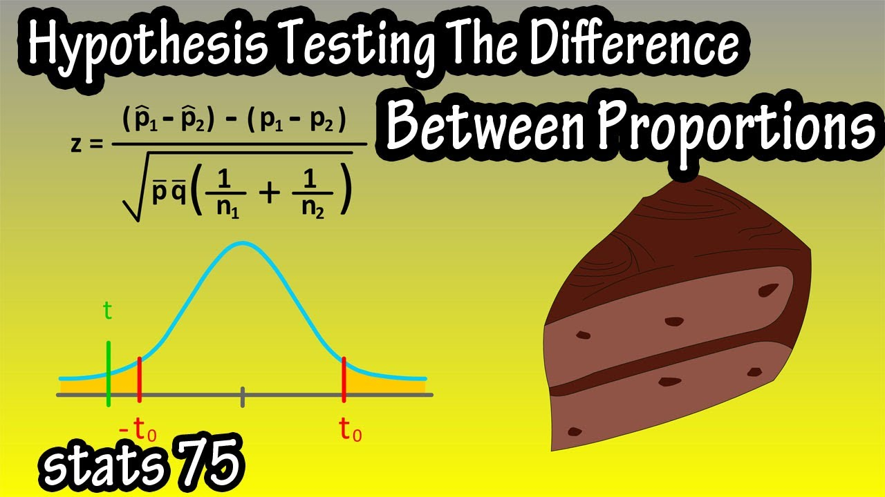Hypothesis Testing The Difference Between Two Proportions   Two Sample  Z Test