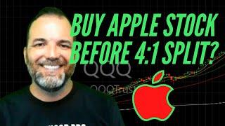 Apple Stock: Buy AAPL Stock Now, Before the 4:1 Stock Split!?