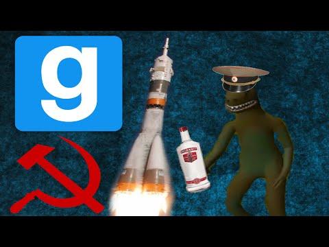 Soviet Rocket Mission GMOD Funny Moments