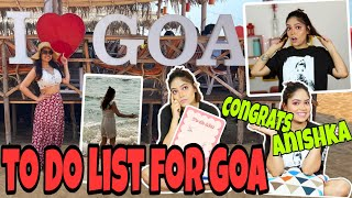 To Do List For GOA  TRAVEL HACKS  Things To Keep In Mind Before Going To GOA   Anku Sharma