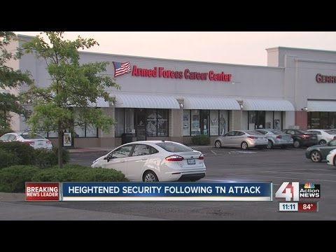 Heightened security after Chattanooga Tennessee shootings