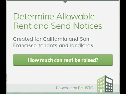 Sf Rent Board Fact Sheet  Example   Calculate Using The San