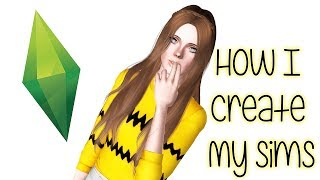 The Sims 3 Create A Sim: How I Create My Sims