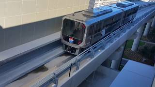 Testing SkyConnect Trains @ Tampa International Airport