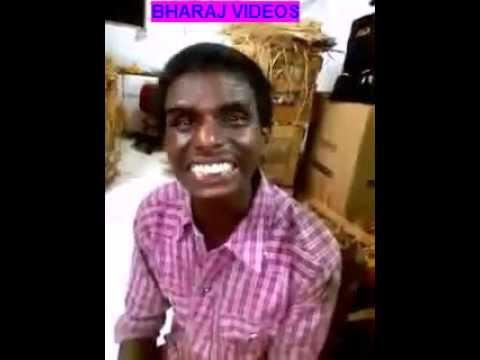Funny Man Singing Hindi Song