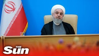 Iran claim 'White House actions mean it is mentally retarded' amid rising tensions with the US