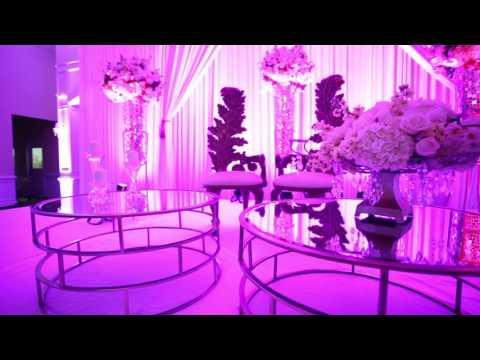 Lighting and Dancefloor Wrap Foxchase  Manor