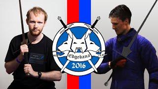 HEMA | Keith Farrell vs James MacGilp | Edgebana 2016 Open Longsword