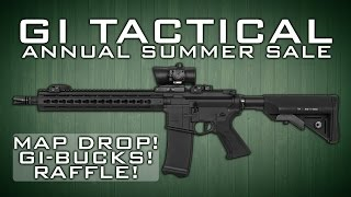 GI Tactical Annual Summer SALE!  | Map Drop! Raffle & More! | AirsoftGI.com
