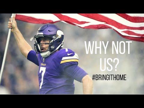 "Minnesota Vikings: ""Why Not Us?"" (Motivational Super Bowl Driven Mini-Movie) ᴴᴰ"