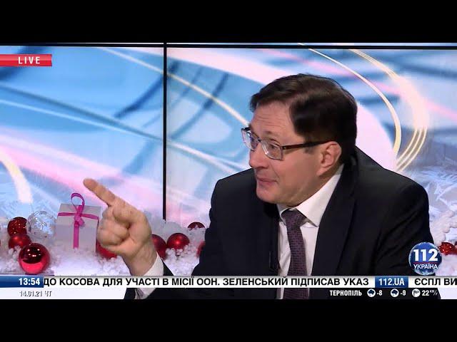 Академик АЕН Украины Анатолий Пешко в эфире