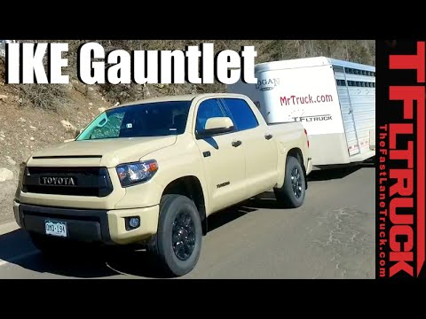2016 Toyota Tundra TRD Pro Takes on the Extreme Ike Gauntlet Towing Review from YouTube · Duration:  10 minutes 28 seconds