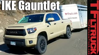 2016 Toyota Tundra TRD Pro Takes on the Extreme Ike Gauntlet Towing Review
