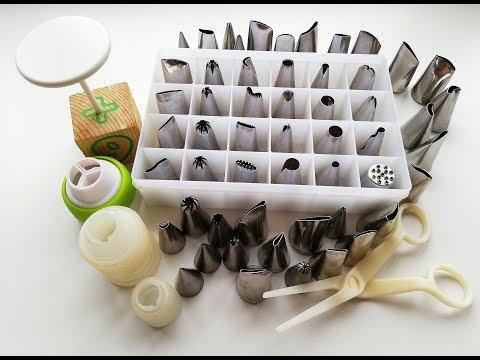 Мастер Класс по Кондитерским НАСАДКАМ для Крема, Более 100 вариантов Использования