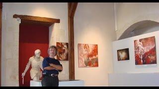 Chateau de BAUGE & Manoir de LAUNAY, EXHIBITIONS of Gregor JAKUBOWSKI in 2007-2014