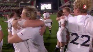 Coupe du Monde de rugby (F) : L'Angleterre achève la France et défendra son titre