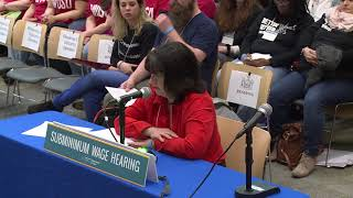 Subminimum Wage Hearing Syracuse 4-30-2018