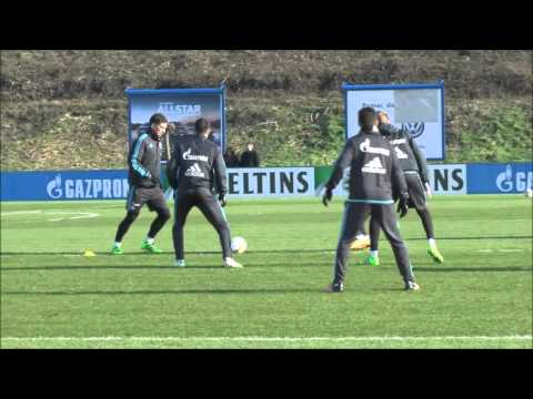 FC SCHALKE 04 Training 13.02.2016