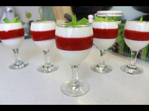 Десерт с творогом и фруктами. / Dessert with cottage cheese and fruit