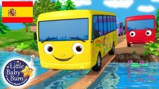 Canciones Infantiles | Diez Autobuses | ¡Y más Dibujos Animados! | Little Baby Bum en Español YouTube Videos